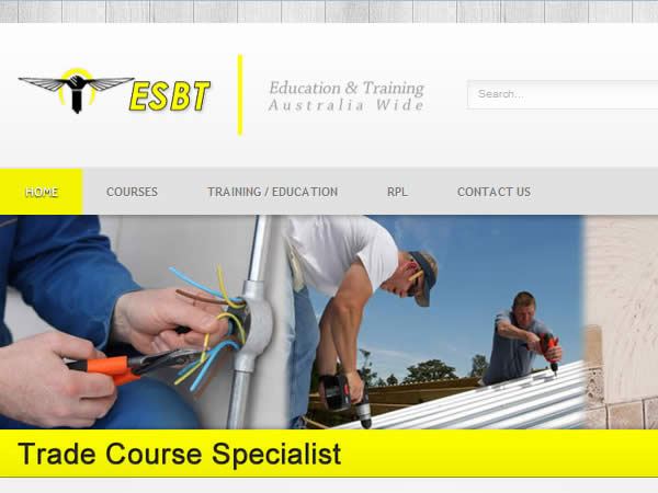 ESBT Management Website