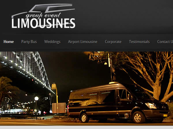 Group Event Limos Website